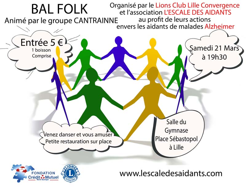 Grand bal follk de l'escale des aidants